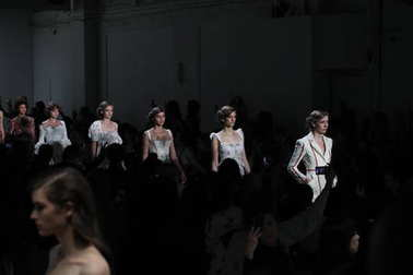 Brock Collection fashion show
