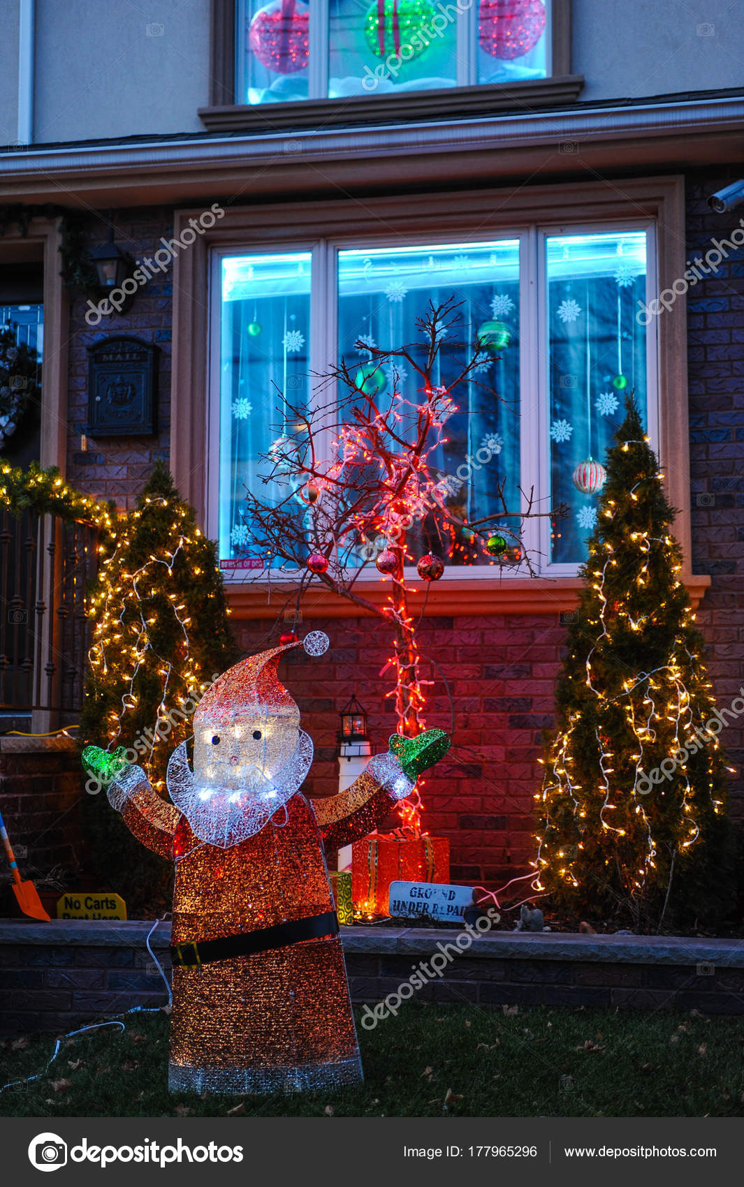 Casas decoradas en navidad 2017 oh decor curtain for Adornos navidenos 2017 trackid sp 006