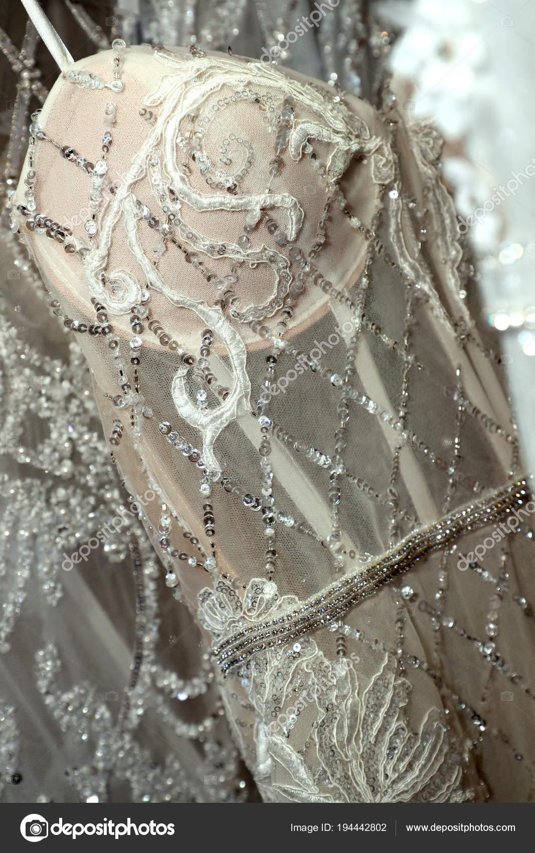 New York April Brautkleider Sind Hinter Den Kulissen Gesehen Die