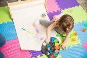 Édes lány találat festés készségek