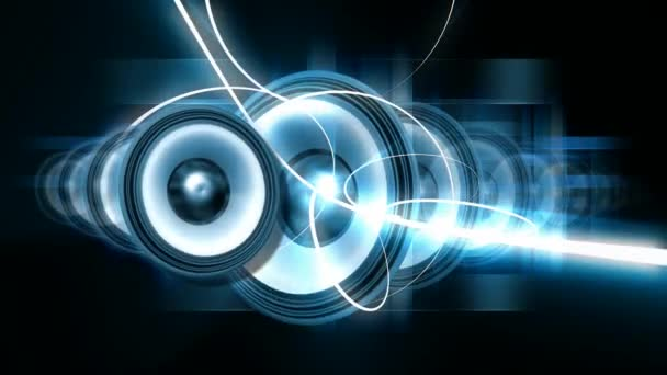 Vibrierende Lautsprecher, ideal für Musikvideos