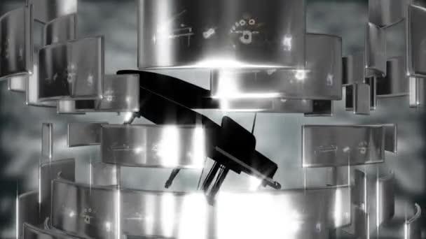 Abstraktní pohybu pozadí piano
