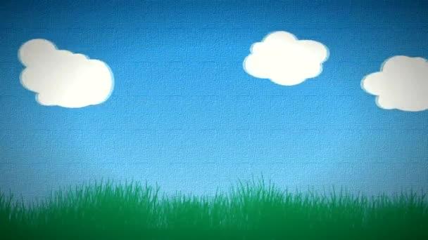 Animated Cartoon Clouds