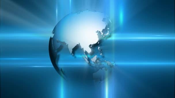 Výtvarná koncepce pohybu zeměkoule