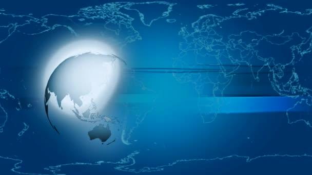 Globus-thematisches Hintergrundkonzept