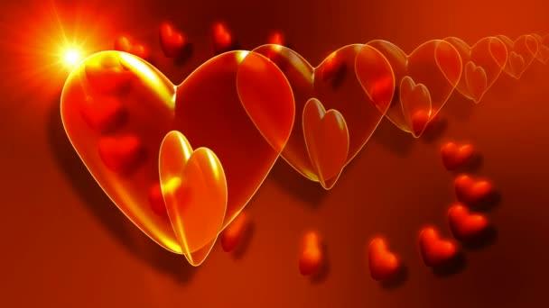 Srdce pohybu pozadí