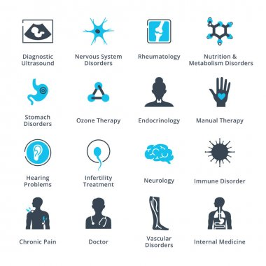 Health Conditions & Diseases Icons