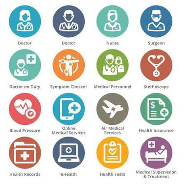 Medical Services Icons Set 2 - Dot Series