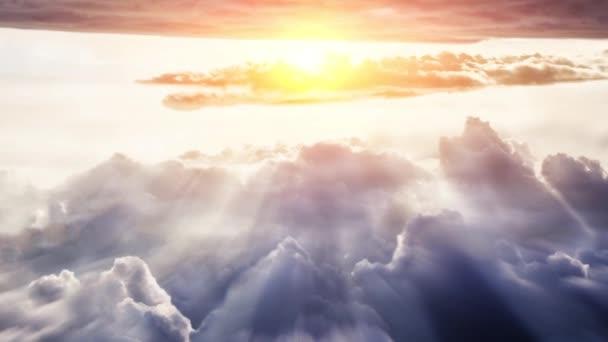 Sky pozadí s mraky