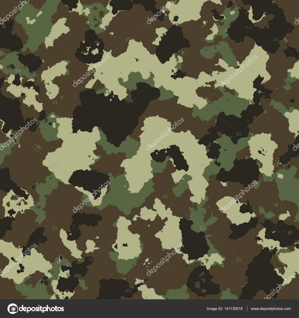 Dessin de camouflage militaire de vecteur en couleurs vertes