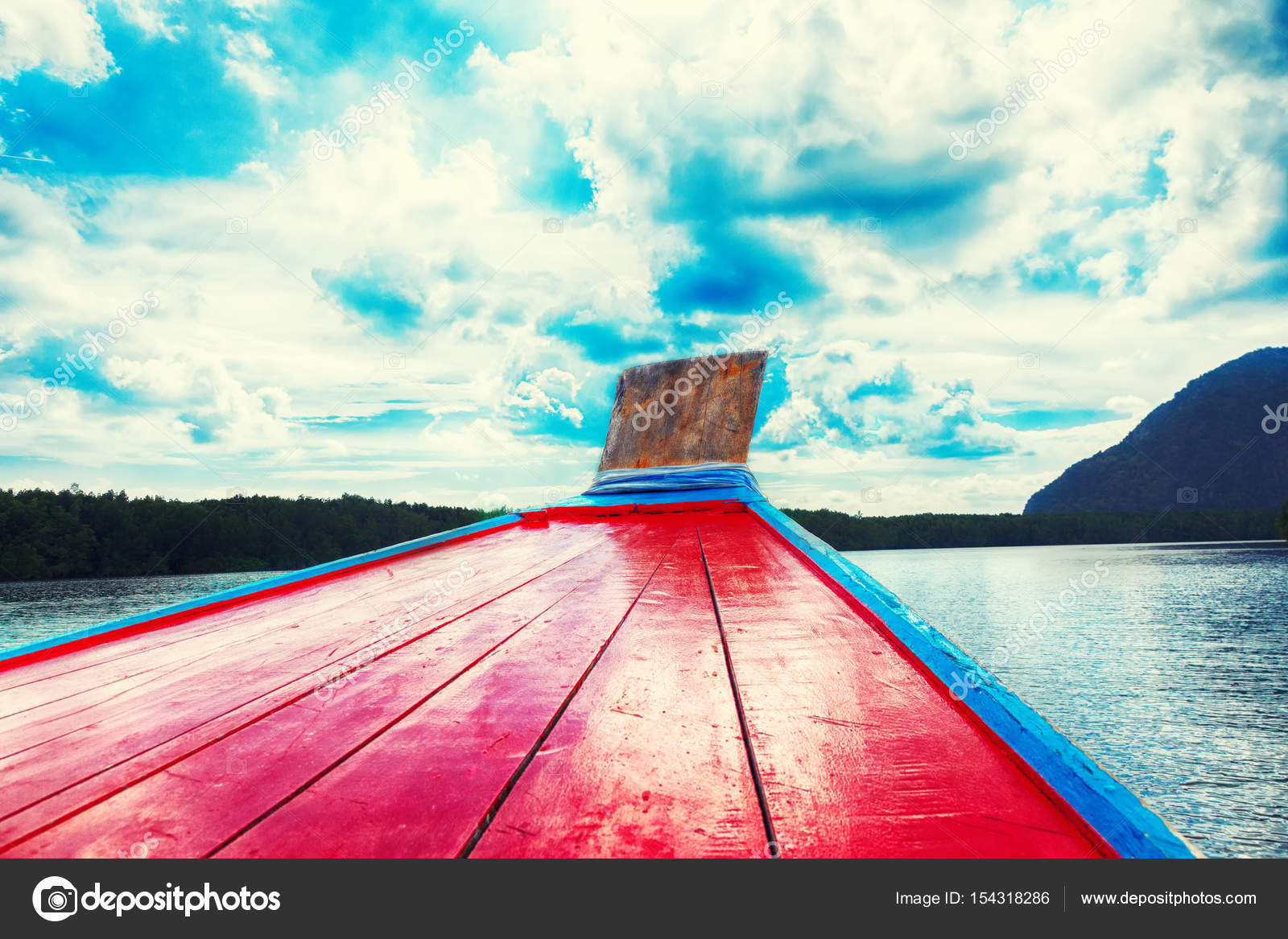 boat trip to tropical islands from phuket stock photo merrydolla