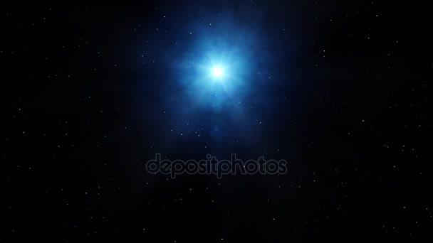 realistické vesmíru s hvězdou