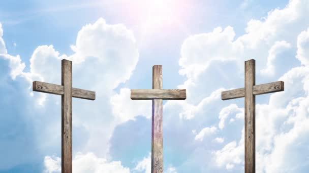 christian crosses. religion concept