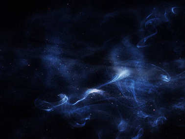Beautiful blue universe