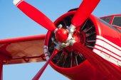 Photo Aircraft round piston engine