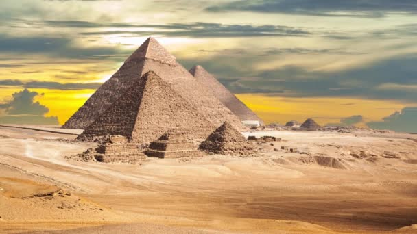 Egypt Káhira - Giza. Celkový pohled z pyramidy
