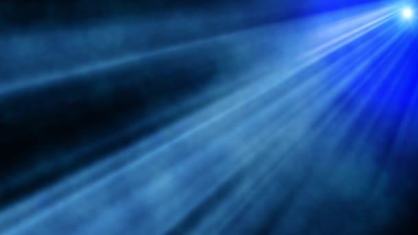 Absztrakt kék direkt fény-füst