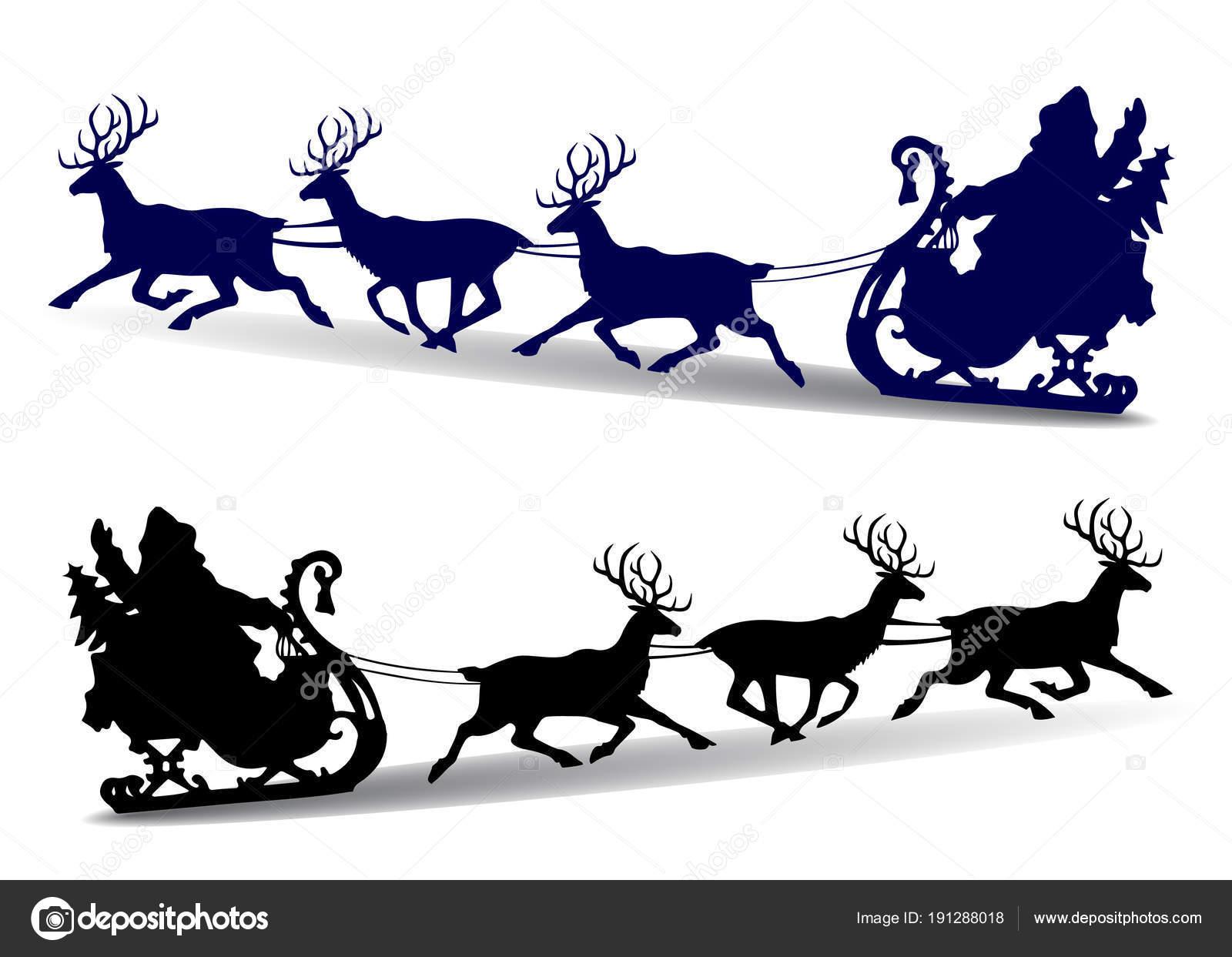 Silueta De Papa Noel Para Imprimir Paseos De Navidad Silueta De - Papa-noel-para-imprimir