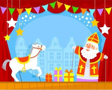 Sinterklaas puppet show