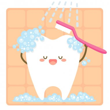 tooth brushing itself