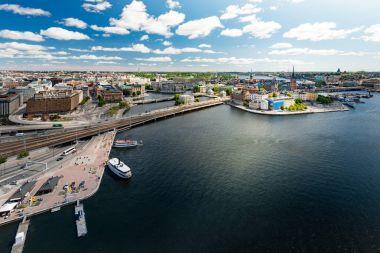 Stockholm city panorama