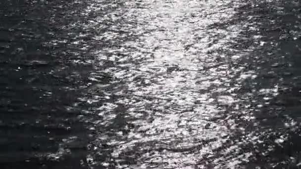 Sun glints. napfény, a víz tükre
