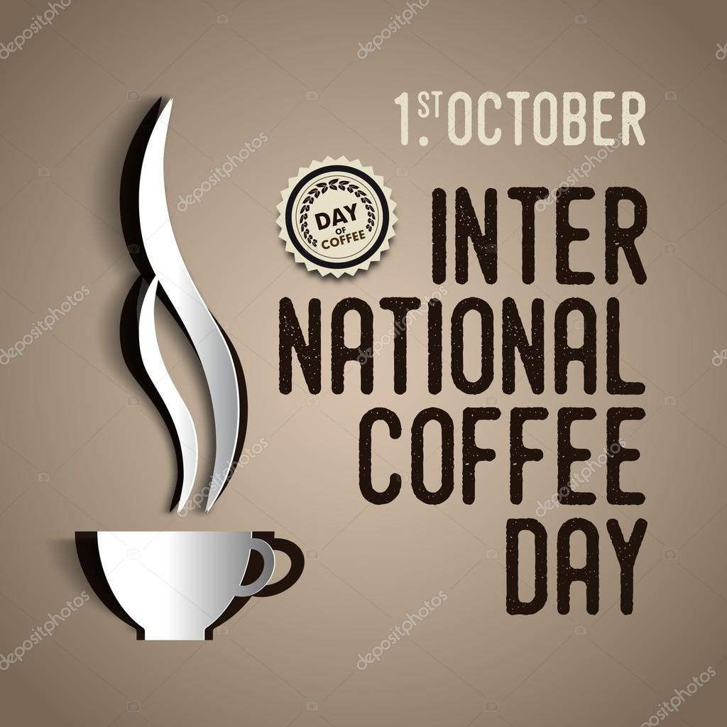 International coffee day Poster — Stock Vector © matju78 ...