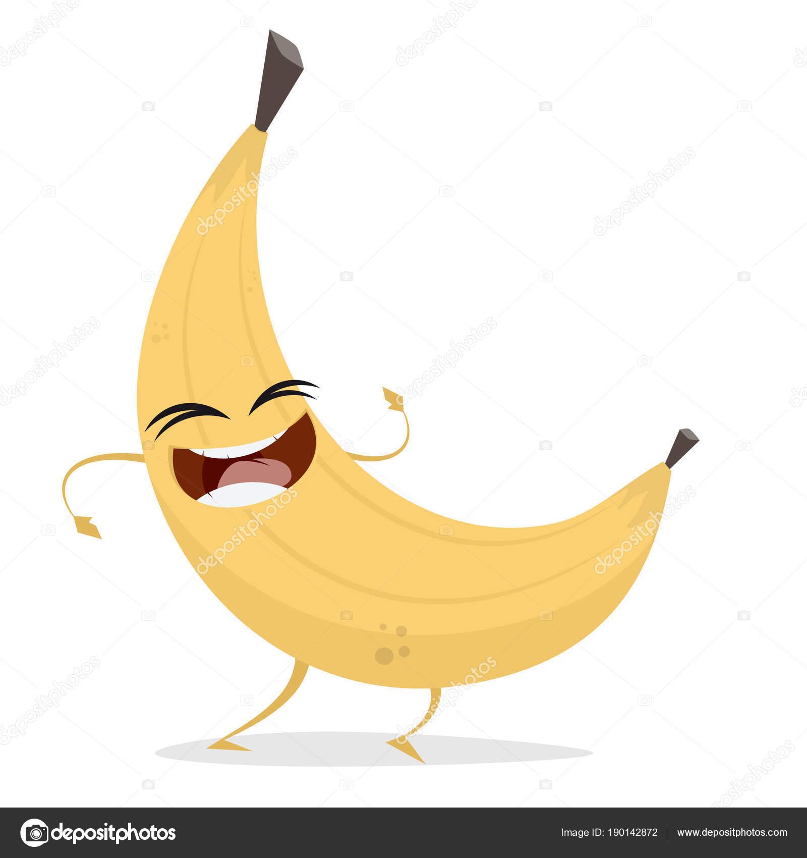 Frau im liegestuhl clipart  Clipart Einer Glücklich Banane — Stockvektor © shockfactor.de #190142872