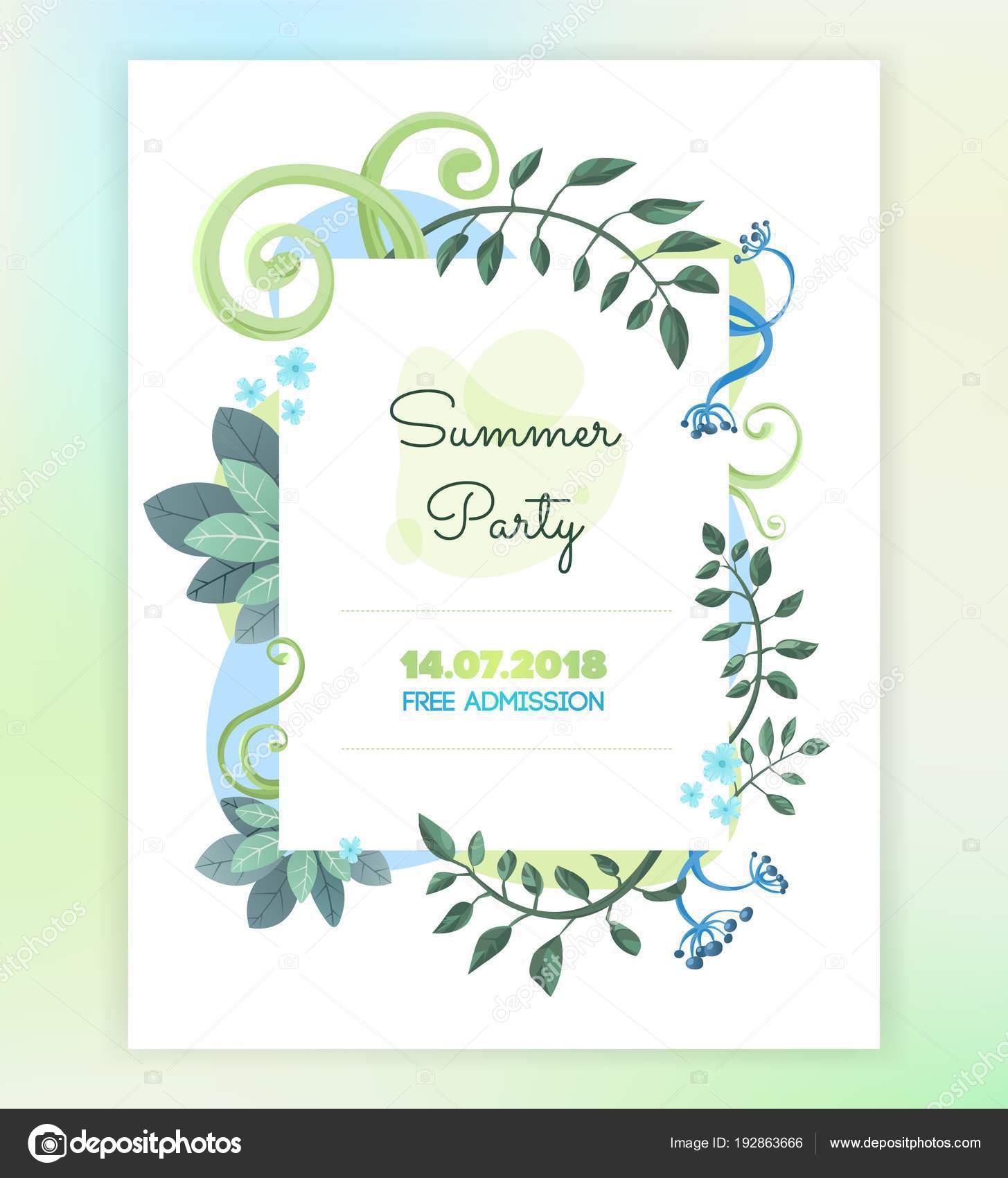Tarjetas De Invitacion Diseños Tarjeta Invitación Floral