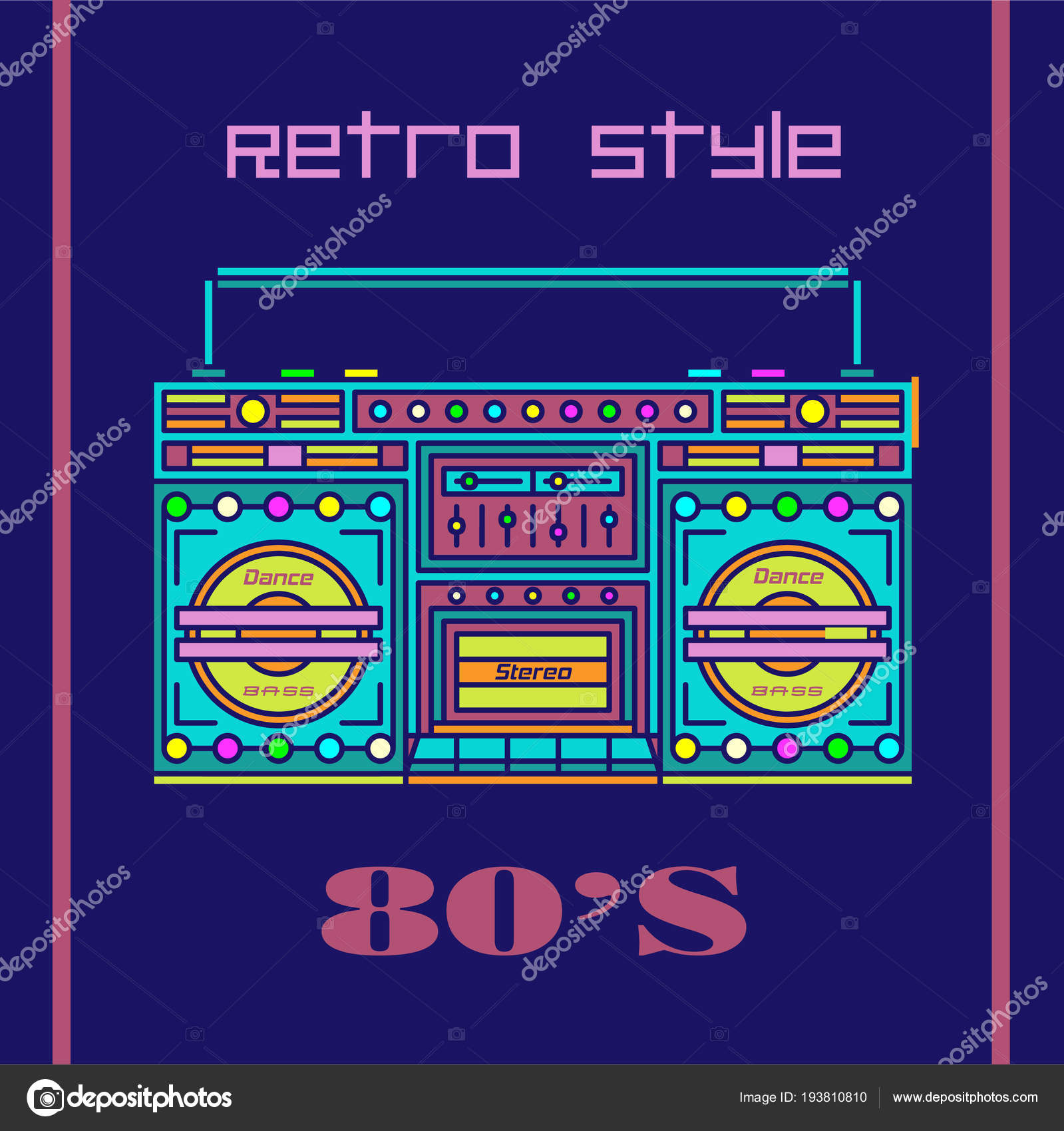 80s Poster Music Poster Vintage Wall Art Wall Art 90s Poster Nostalgic Poster Retro Poster Nostalgia Cassette Tape Vintage Poster