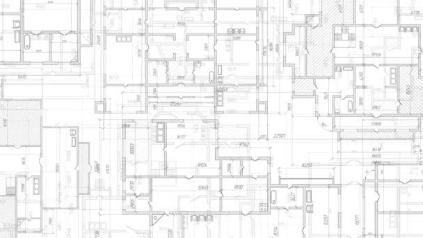 Engineering design .House plan project .Technische Zeichnung background.Bau und Reparatur