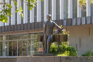 Monument. PI Tchaikovsky. Simferopol, Crimea