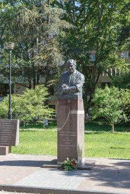 Kirichenko N. First sekritar Crimean Regional Committee. Alley with the heroes of the Soviet Union. Simferopol, Crimea