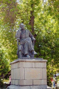 Simferopol, Crimea - May 9, 2016: Writer Konstantin Andreyevich Trenev (1876-1945)