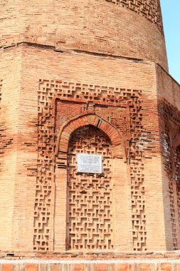 Burana Tower. An architectural monument of the XI century. Kyrgy