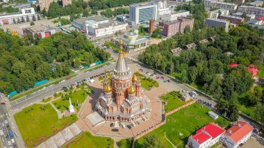 Cathedral of the Holy Archangel Michael. Izhevsk, Russia