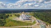 Fotografie Belogorsky St. Nicholas Orthodox-Missionary Monastery. Russia, Perm Territory, White Mountain