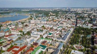 Panoramic view of Kazan, Russia