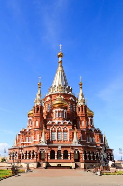 Cathedral of the Holy Archangel Michael. Izhevsk, Russia.