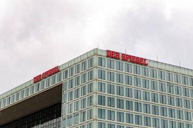 Hamburg, Germany - June 27, 2019: The building of media company