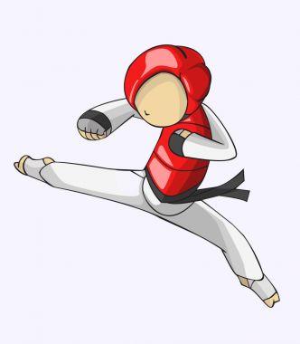 Taekwondo. savaş sanatı