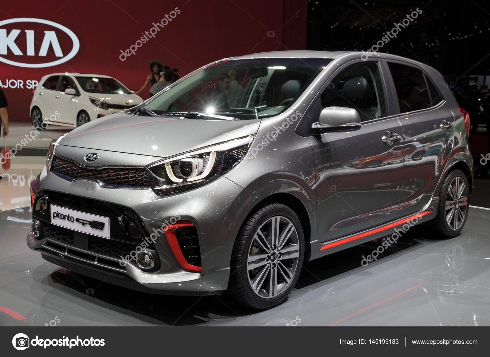 kia picanto gt line auto redactionele stockfoto foto vdw 145199183. Black Bedroom Furniture Sets. Home Design Ideas
