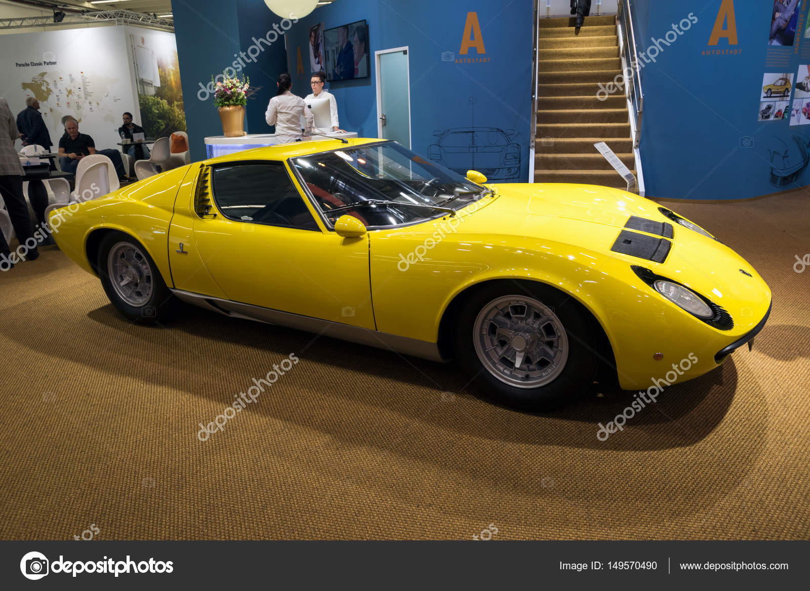 1967 Lamborghini Miura P400 Vintage Sports Car Stock Editorial Photo C Foto Vdw 149570490