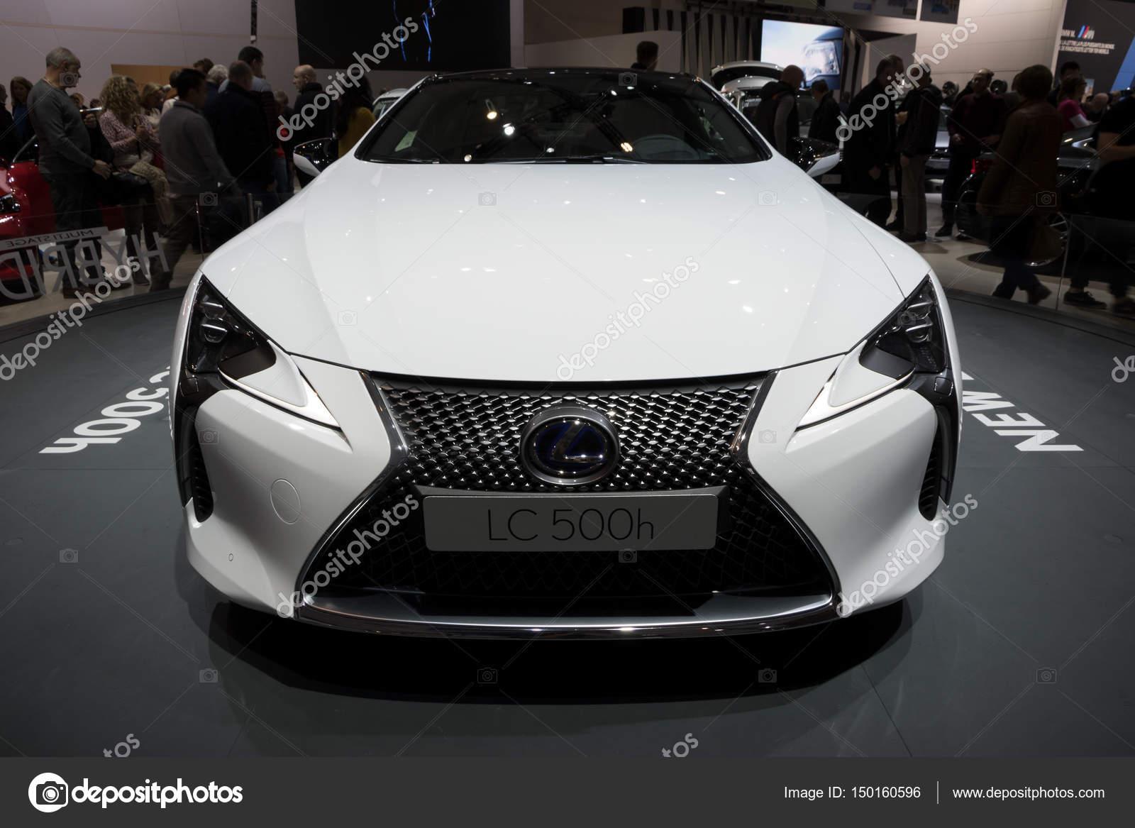 Lexus Lc500h Hybride Auto Redactionele Stockfoto C Foto Vdw 150160596