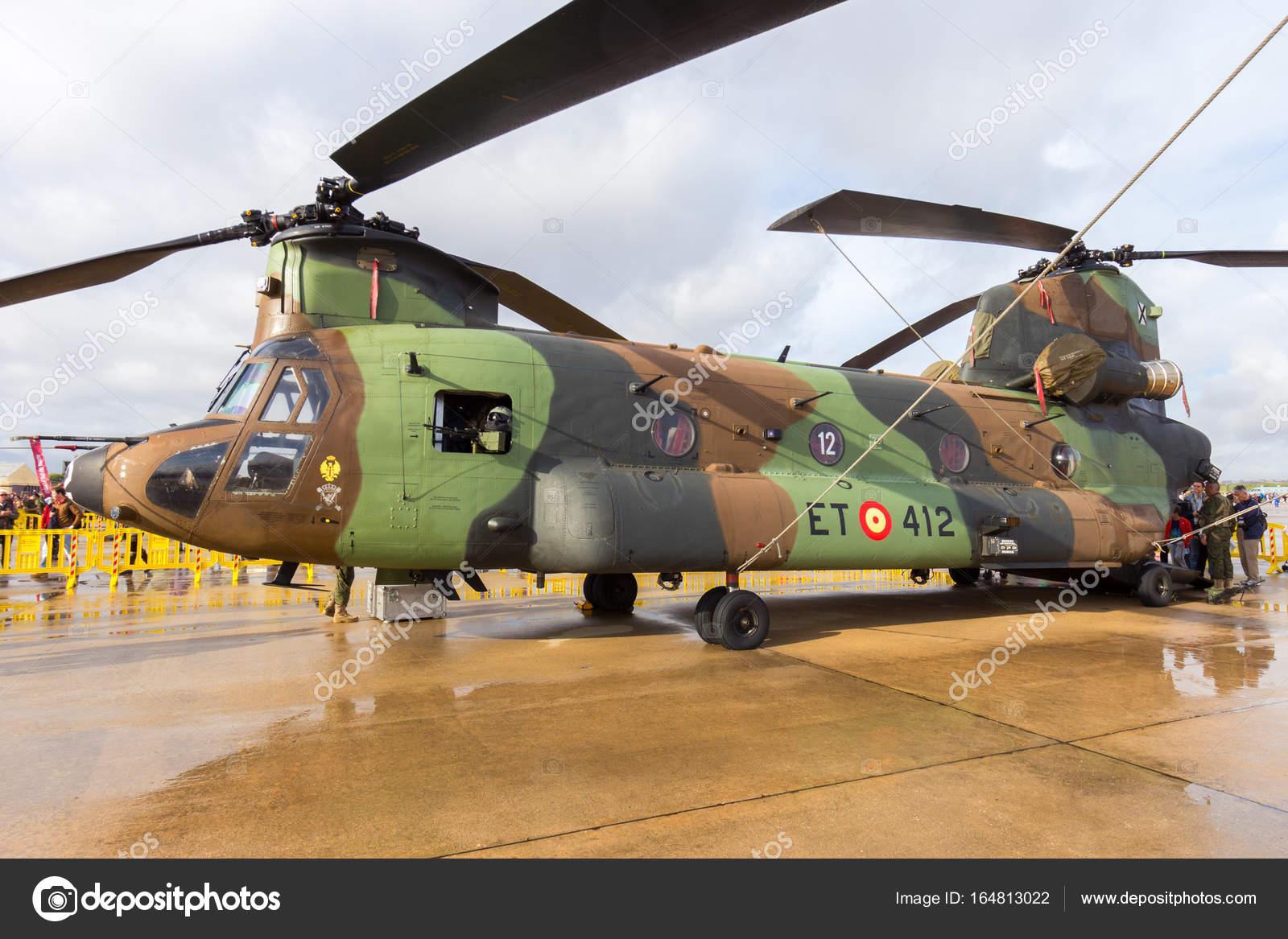 Elicottero Ch : Elicottero da trasporto spagnolo esercito boeing ch chinook