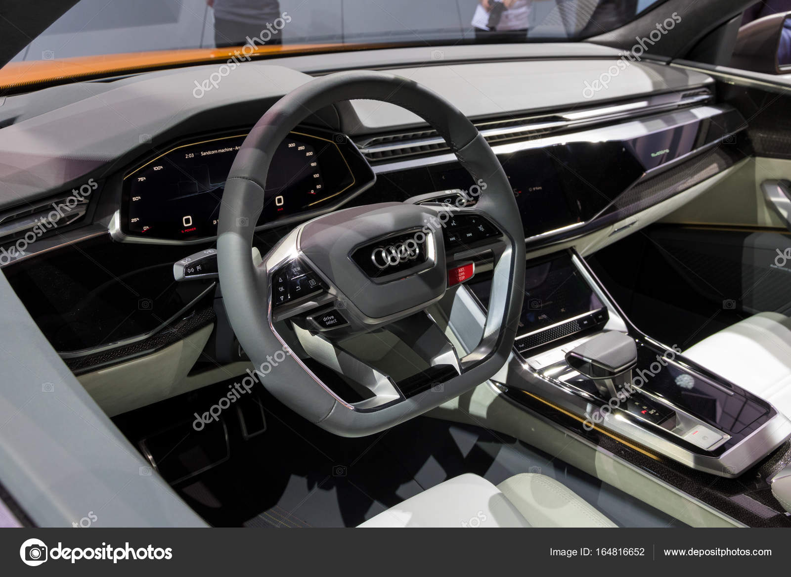 Interior New Audi Q8 Car Stock Editorial Photo Foto Vdw 164816652