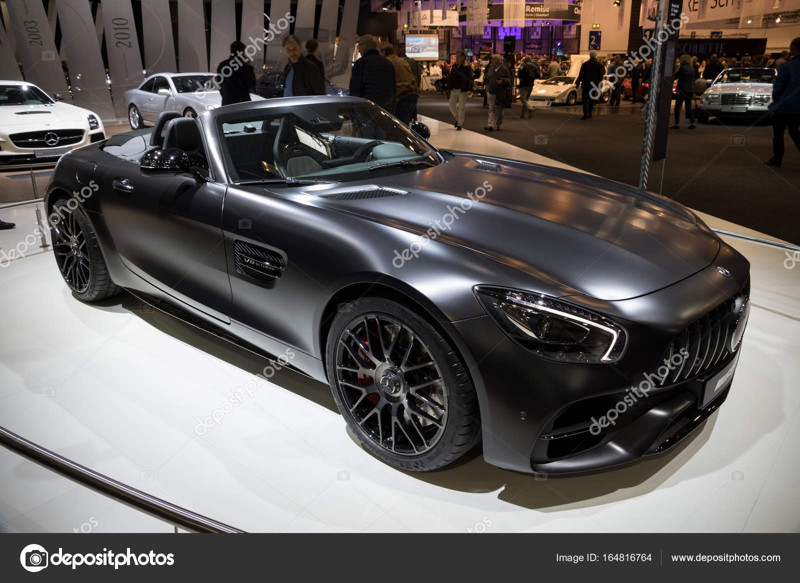2017 mercedes benz amg gt 50 edition sports car stock. Black Bedroom Furniture Sets. Home Design Ideas