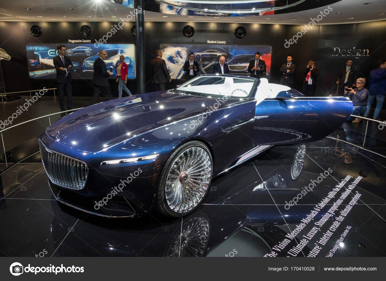 vision mercedes-maybach 6 cabriolet — redaktionelles stockfoto