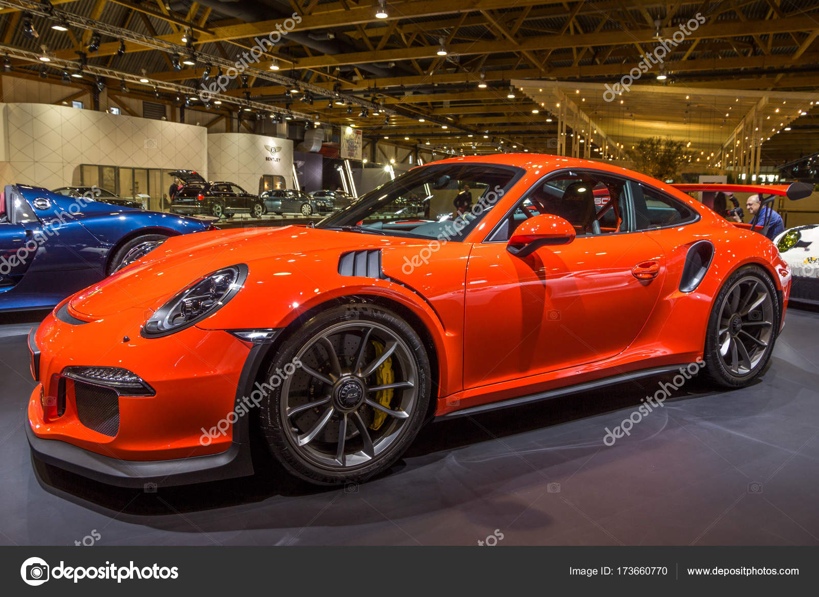 porsche 911 gt3 rs sportwagen redaktionelles stockfoto foto vdw 173660770. Black Bedroom Furniture Sets. Home Design Ideas
