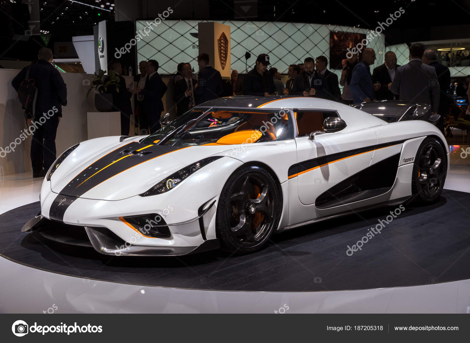 Koenigsegg Regera Hyper Car Stock Editorial Photo Foto VDW